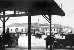 Yuzhno-Sakhalinsk. Railway Station Square