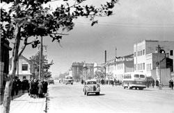 Yuzhno-Sakhalinsk. Lenin street, 1956