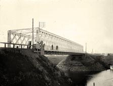 Yaroslavl. Panorama of the bridge