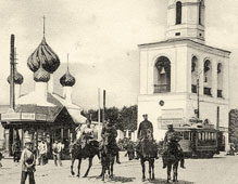 Yaroslavl. Theatre Square