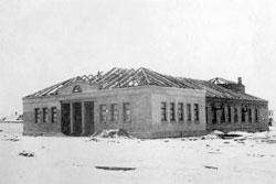 Yarovoye. Construction bath, 1950