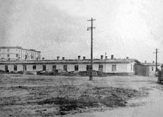 Yarovoye. Factory barracks