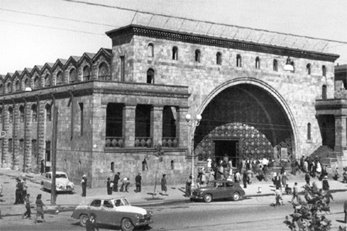 Yerevan. Central Market Hall