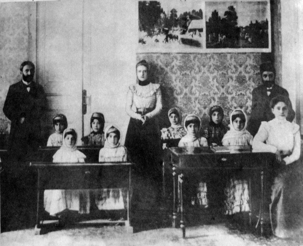 Yerevan. Russian-Muslim school for girls, 1902