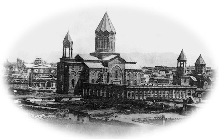 Gyumri. Church Surb Amenaprkich (Holy Saviour), 1847