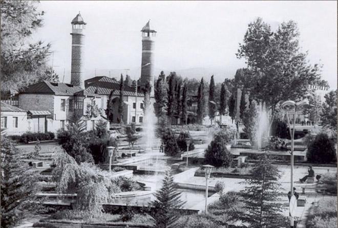 Agdam. Mosque