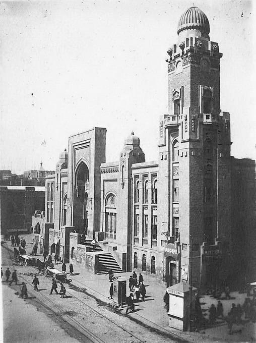 Baku. Sabunchi station, built in 1926