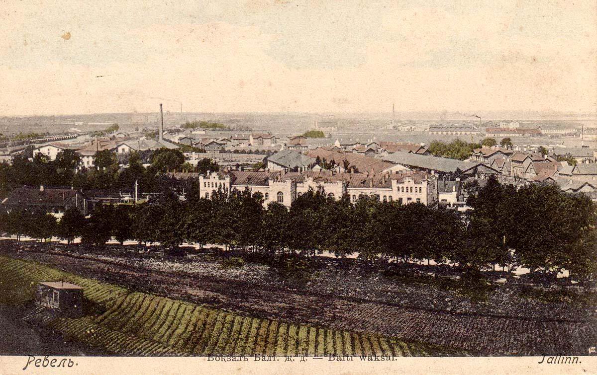 Tallinn. Baltic Railway Station