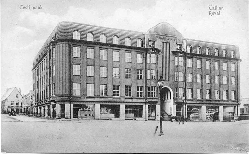 Tallinn. Estonian bank, 1913