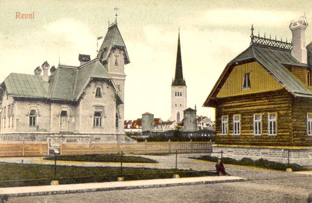 Tallinn. Panorama of the city