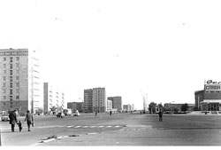 Aktobe. Panorama of the city