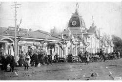 Almaty. Shopping street, 1930