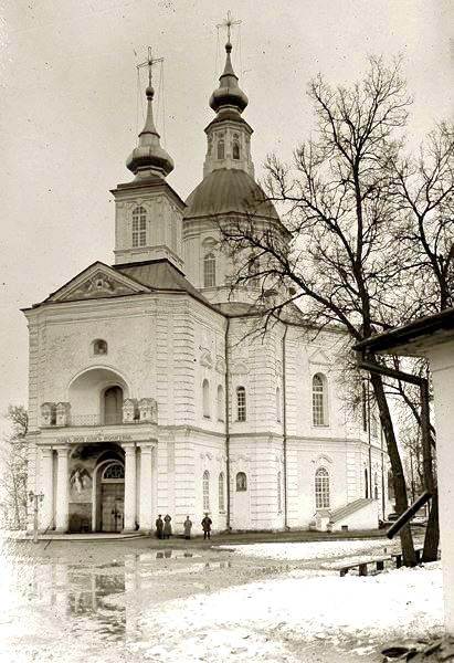 Ahtyrka. Cathedral