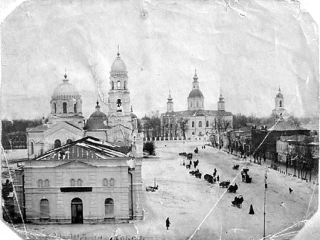 Ahtyrka. St. Sophia complex