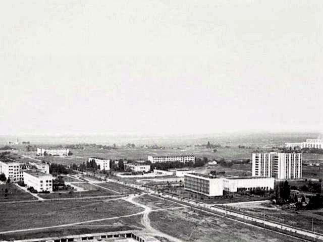 Armyansk. Panorama of the city