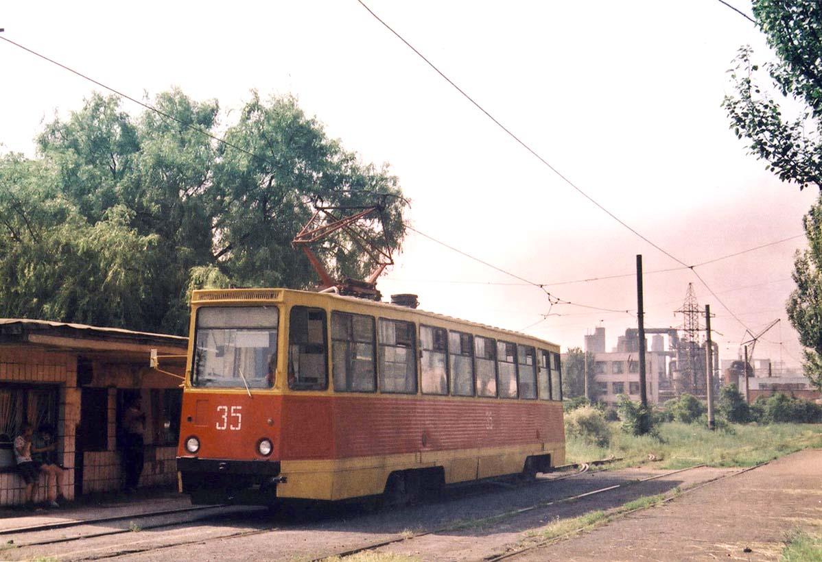 Avdiivka. Industrial avenue