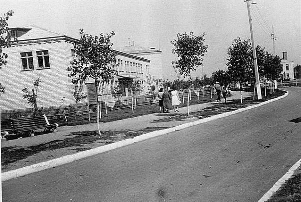 Avdiivka. Panorama of the city, circa 1960's