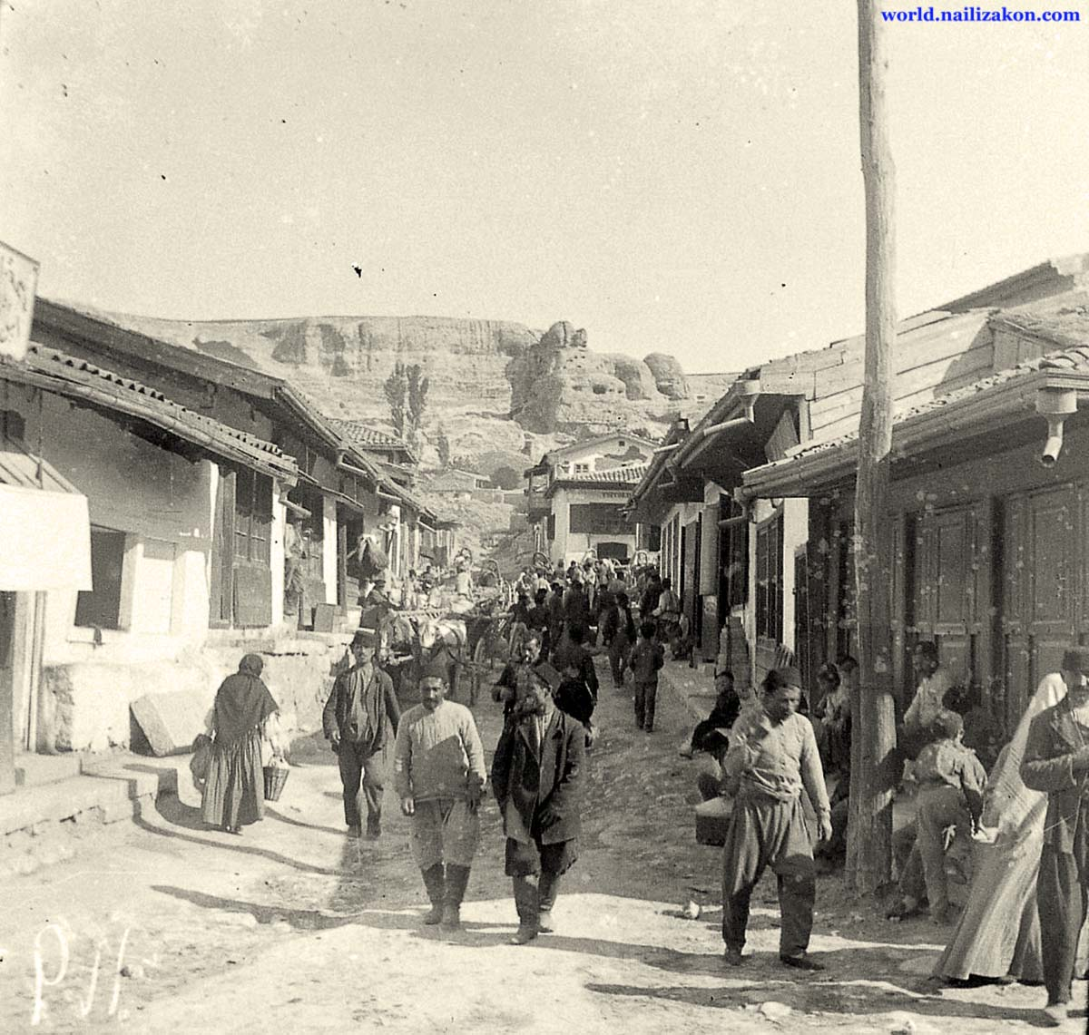 Bakhchysarai. The streets of the town
