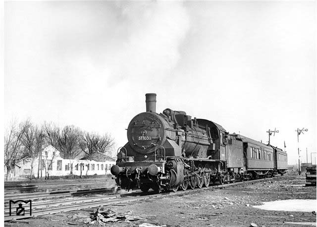 Bakhmach. Special train, 1943