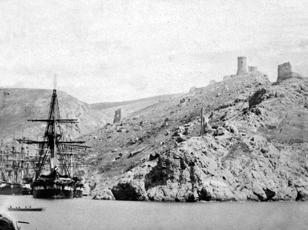 Balaklava. War of 1853-56, the harbor