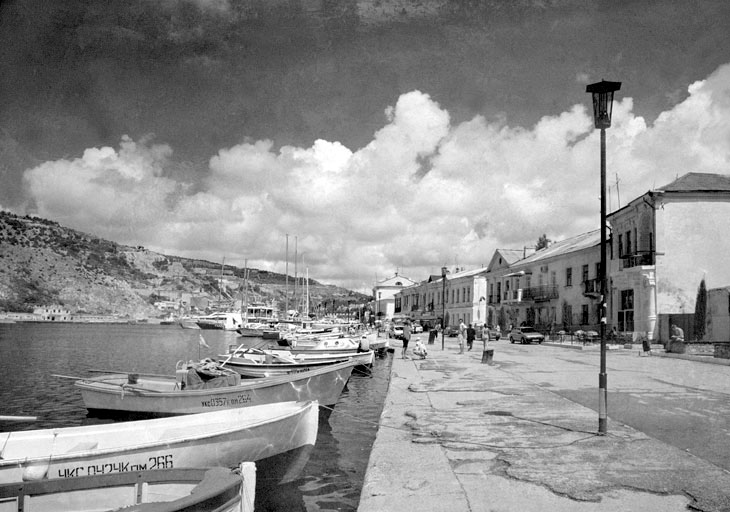 Balaklava. The Old Quay