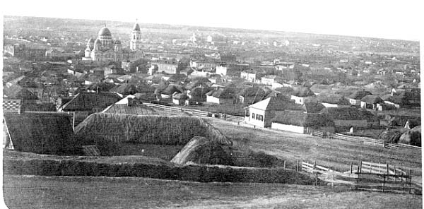 Barvinkove. Panorama of the city