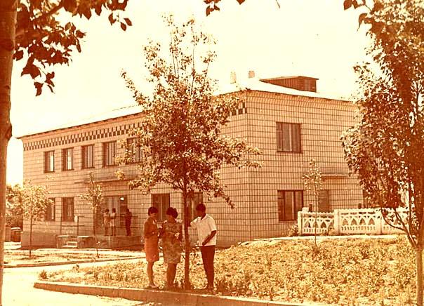 Bashtanka. District Library, 1968