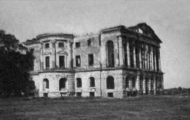 Baturyn. Palace of Razumovsky, 1910