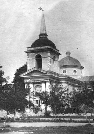 Baturyn. Resurrection Church