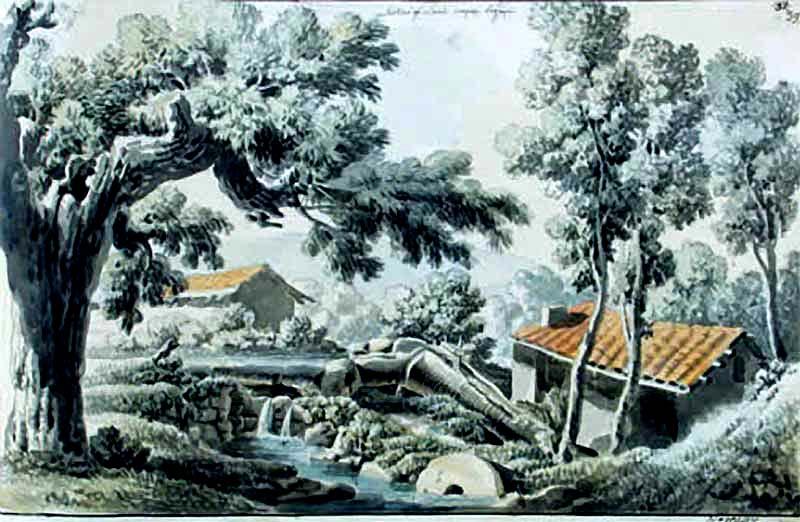 Bilohirsk. Watermill
