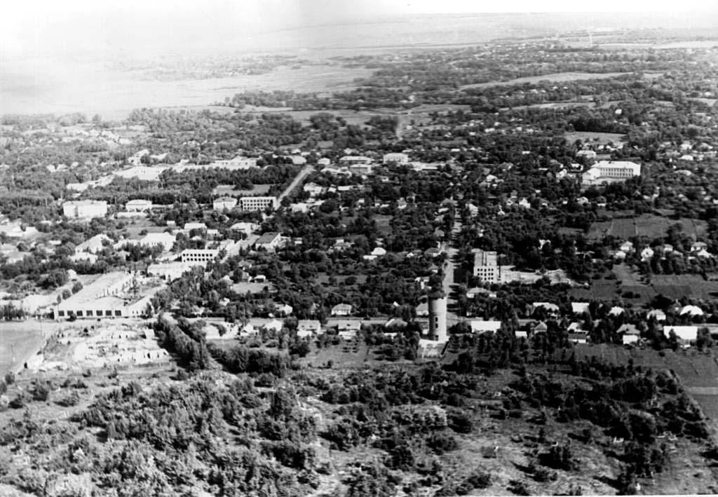Bilopillia. Panorama of the city