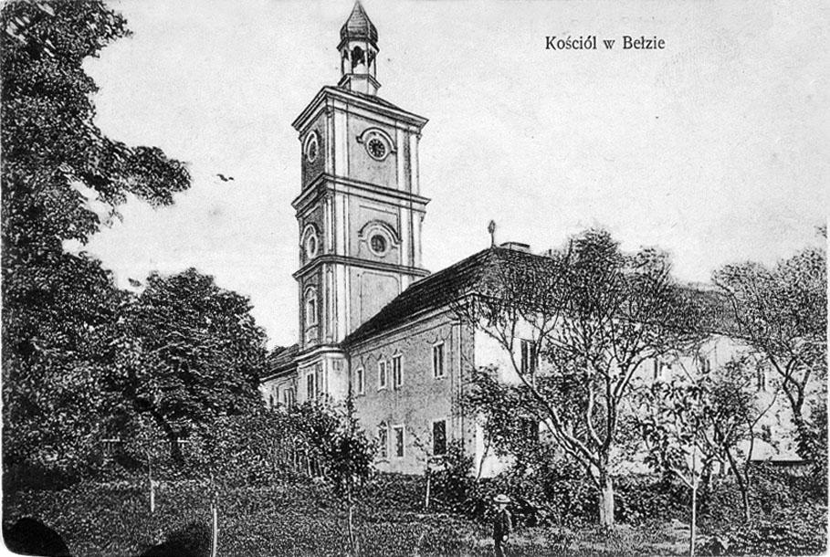 Belz. Roman catholic church