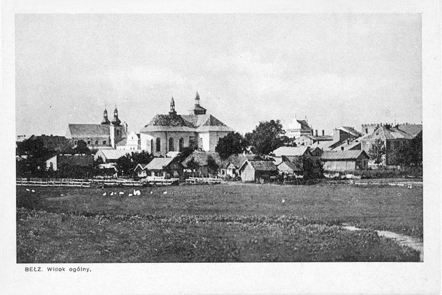 Belz. Panorama of the city