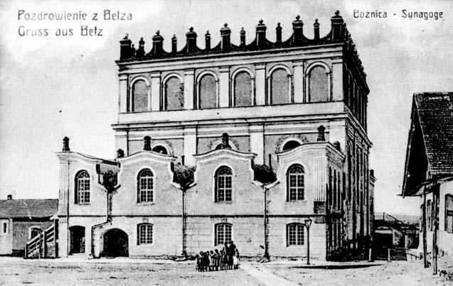 Belz. Synagogue