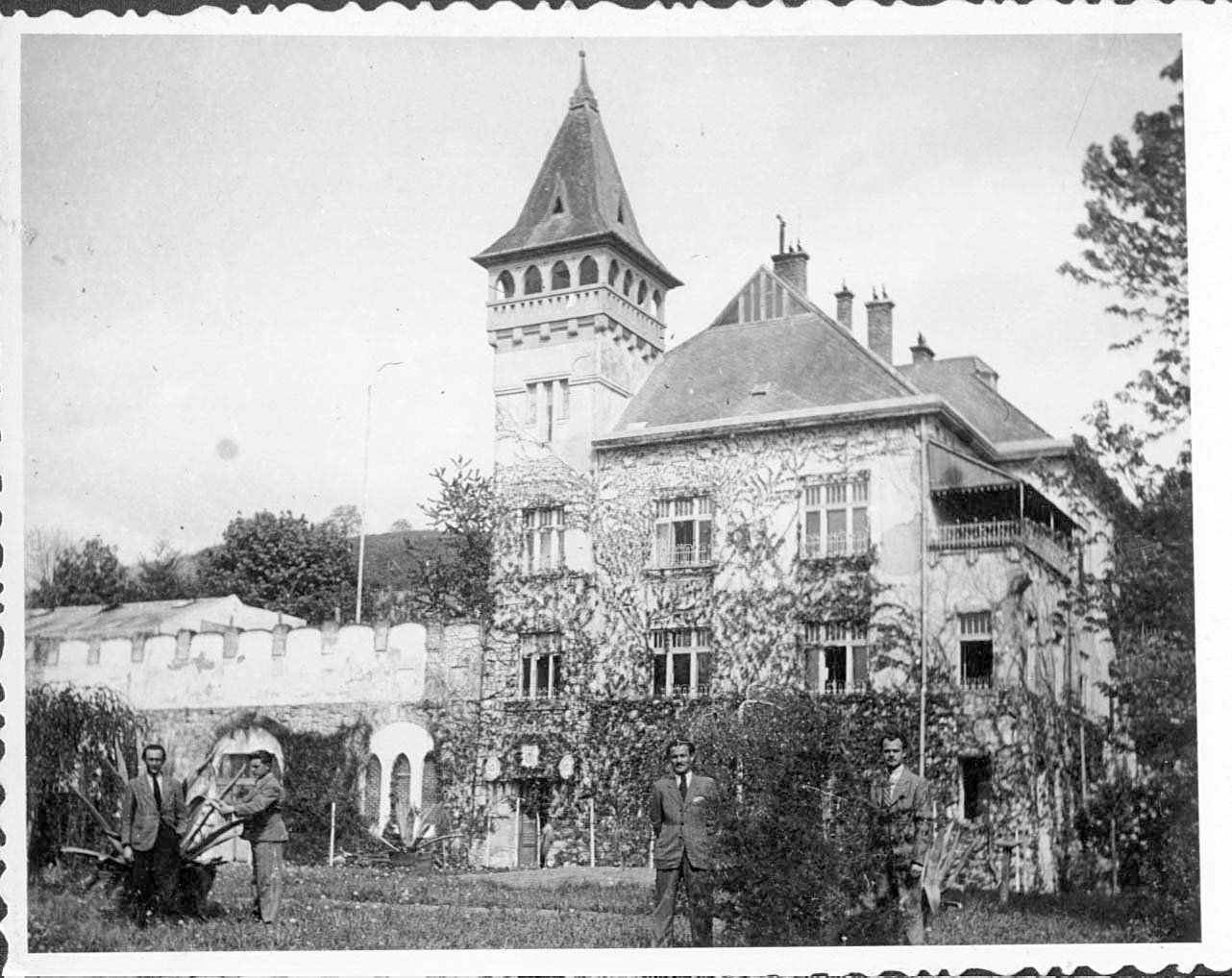 Berehove. The hunting palace