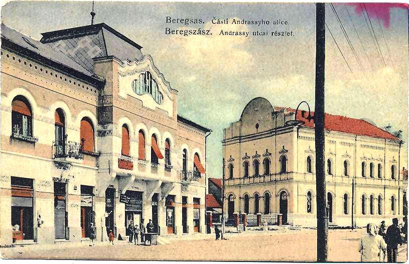 Berehove. Andrássy Street