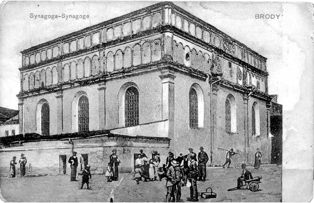 Brody. The Synagogue, 1900