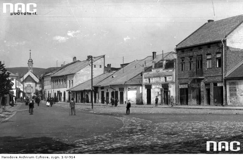 Dobromyl. Main street