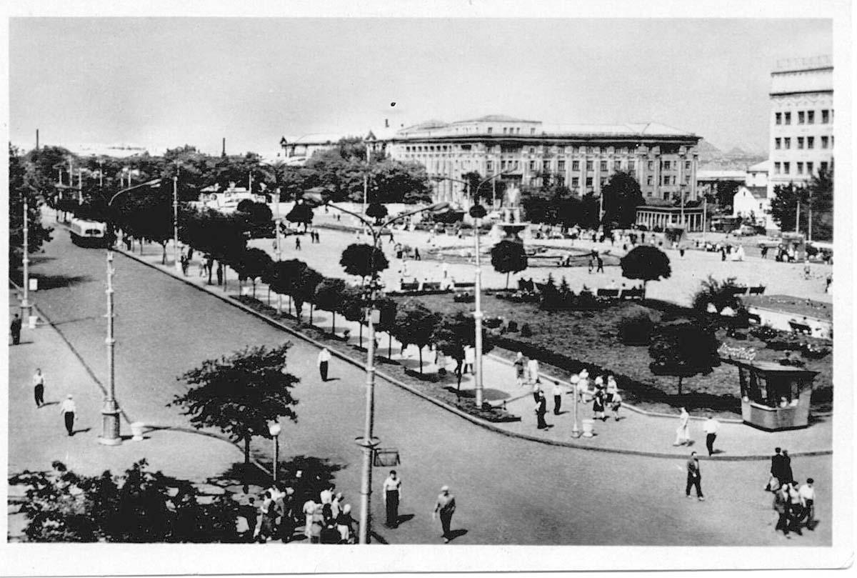 Donetsk. Lenin Square
