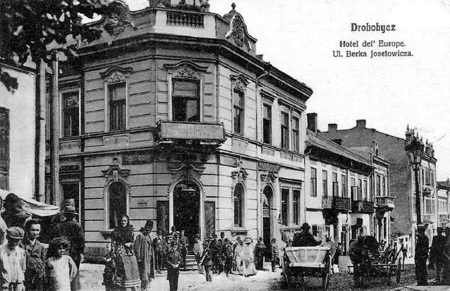 Drohobych. Hotel Europe