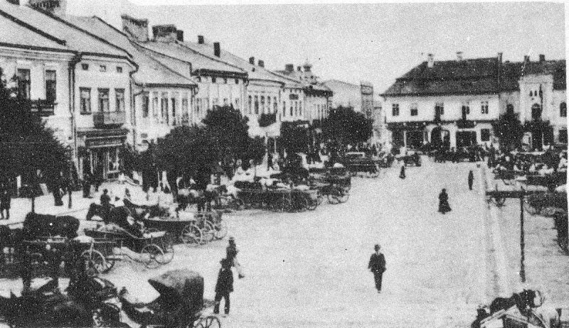 Drohobych. Panorama of the city