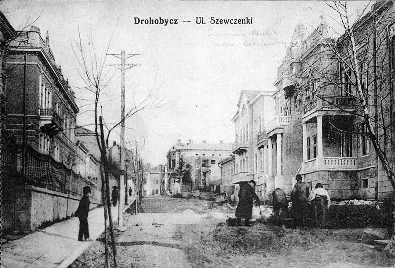 Drohobych. Shevchenko street