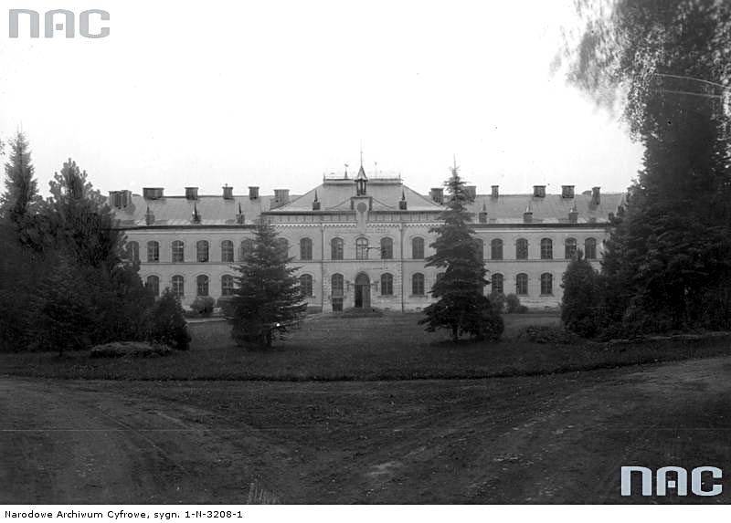 Dubliany. Exterior of the Faculty of Agriculture