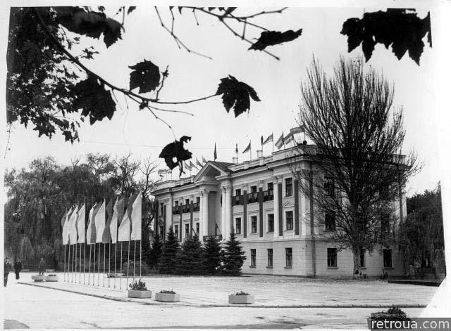 Dzhankoy. City district court, 1960s