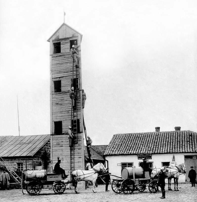 Dzhankoy. Fire tower, the beginning of the twentieth century