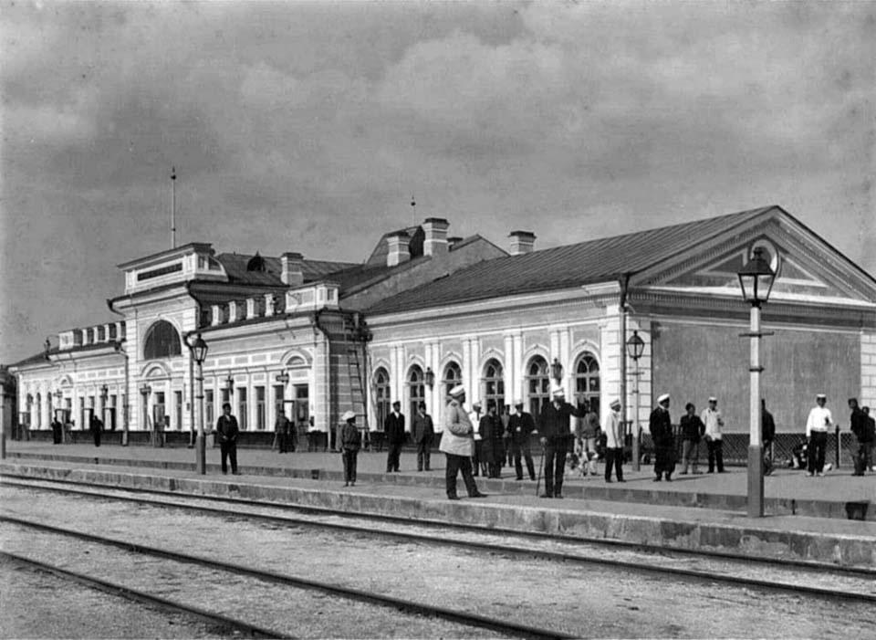 Dzhankoy. Railway station, 1910