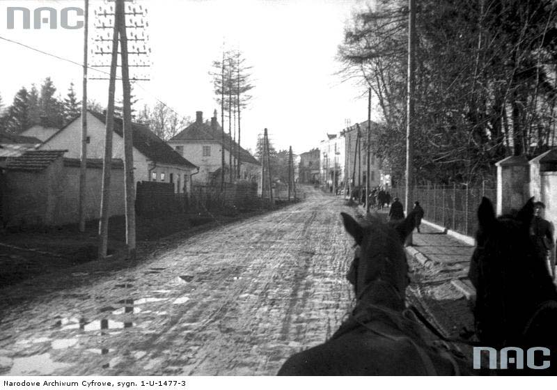 Horodok. General view of the street