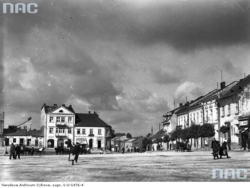 Horodok. Panorama of the market square