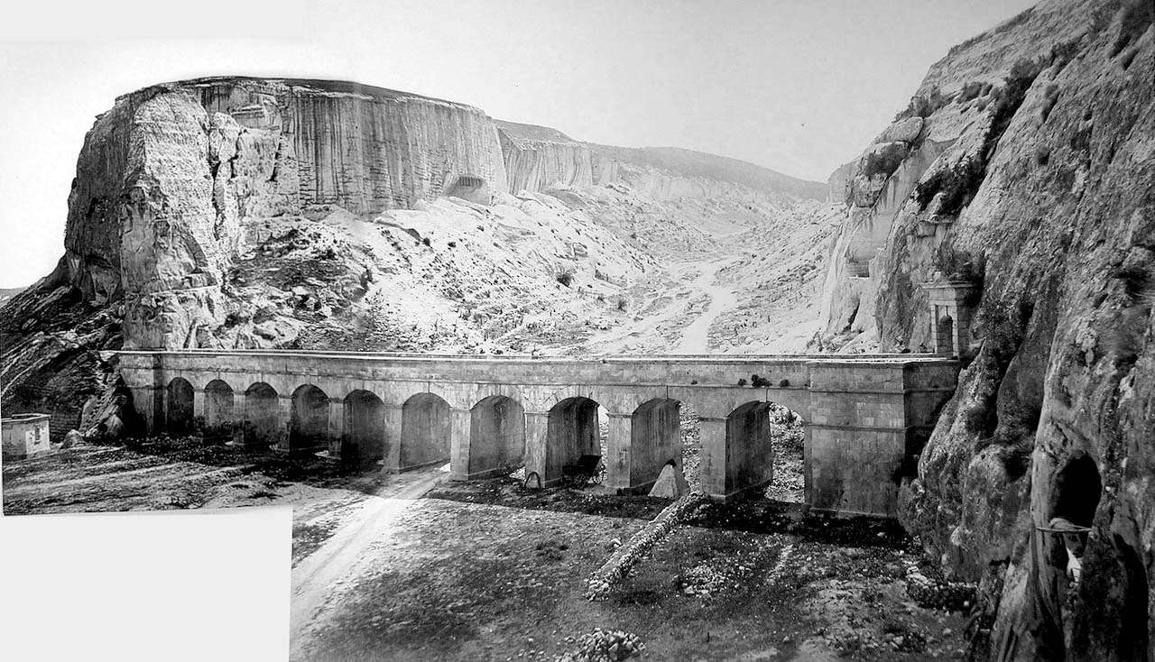 Inkerman. Aqueduct near quarries