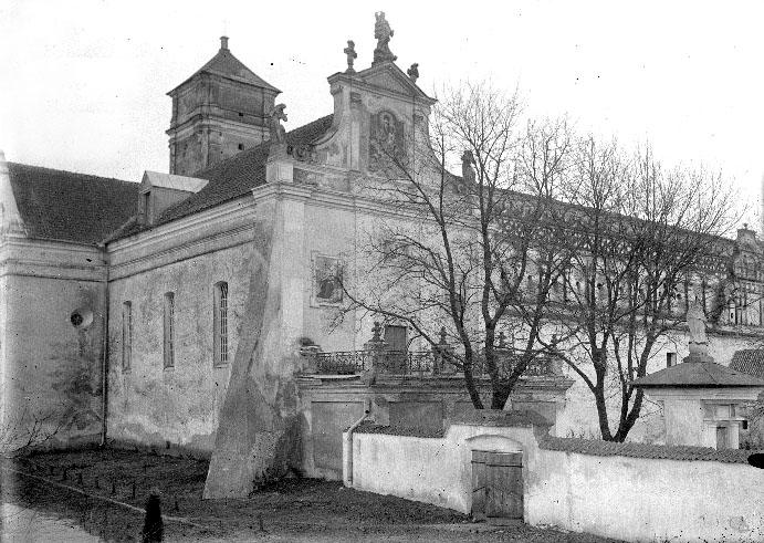 Iziaslav. The Catholic Church of St. Michael